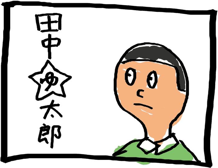 田中ゆ太郎のプロフィールイラスト
